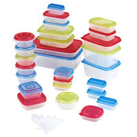 Anchor Hocking 60 Piece Plastic Storage Set
