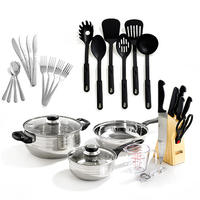 Gibson 32-Piece Stainless Steel Kitchen Set