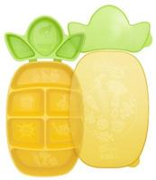 $7.99 Dr. Sears Nibble Tray, Yellow/Green, 12 Months