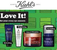 FreeComplimentary Trial Kit + Free Shipping with the purchase of any eye care product @ Kiehl's Canada