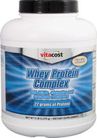 5 lbs. of Vitacost Whey Protein Complex Powder