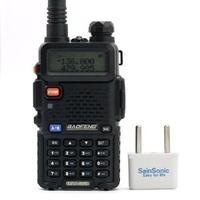 #1 Best seller! BaoFeng UV-5R Dual Band Two Way Radio (Black)