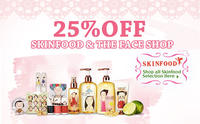 25% offThe Face Shop and Skinfood items @iMomoko
