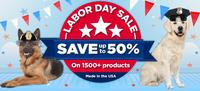 Up to 50% OFFLabor Day Sale @ PetFoodDirect