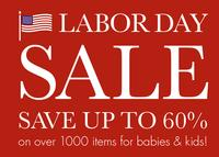 Up to 60% offbabies' and kids' items @ Pottery Barn Kids