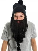 $9.99Knit Black Beard Beanie