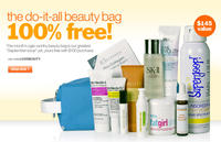 Free Beauty Bag with Samples ($145 Value)with Any $100 Purchase @Bliss