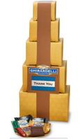 $25Ghirardelli Gold Personalizable Gift Tower