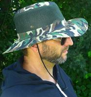 Vented Camouflage Hat