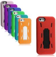 $2.79Dual Layer Case for iPhone 5 w/ kickstand