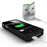 $39uNu Exera System- iPhone 4 4S Battery Case & Duo Charging Dock
