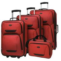 US Traveler St. Michelle 4 Piece Super Lightweight Rolling Luggage Set