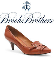 Brooks Brothers Dotted Wedge Espadrilles Shoes   $84 **Perfect for