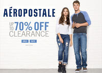 Up To 70% Off Sitewide + Extra 30% Off Clearance@ Aeropostale