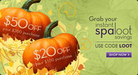 $50 Off $200or $20 Off $100 order @SpaLook