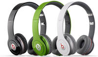 Factory Refurbished Beats by Dr. Dre Solo HD Headphones w/ Detachable Cable, Case, & Mic/Remote Control on Cable