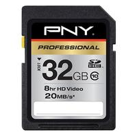 PNY Professional 32GB SDHC Memory Card