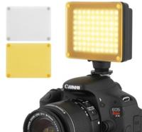 80-LED Continuous Light Panel w/ Camera Mount