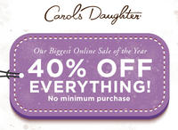 40% OffSitewide @ Carols Daughter
