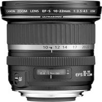 Canon EF-S 10-22mm f/3.5-4.5 USM SLR Lens for EOS Digital SLRs Refurbished