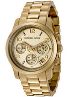 Michael Kors Women's Chronograph Gold Tone Stainless Steel Watch