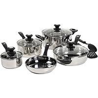 Bella™ 11-pc. Stainless Steel Cookware Set