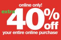 Extra 40% OFFEntire Purchase @ Stage Stores