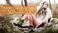30% Off Everythingblack friday sale @ DNA Footwear
