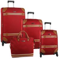 Anne Klein Vintage Edition 4 Piece Spinner Luggage Set (Three Colors Available)