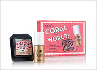 Free Two tropical cheek faves in one mini setwith Any $60 Purchase @Benefit Cosmetics