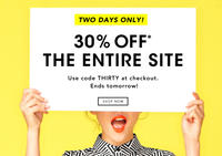 30% OFFSitewide Sale @ Kate Spade Saturday
