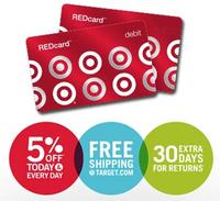 Extra 5% off  Everything In-stores And Online With Target REDcard