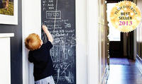 $9Peel-and-Stick Chalkboards