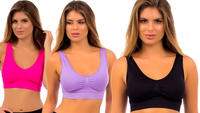 $22.99Angelina Seamless Sports Bra 6-Pack