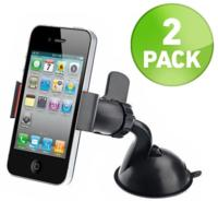 $6.512 Pack Of 360 Degree Rotating Suction Grip Phone Mounts