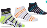 $19.99包邮Slazenger Classic Athletic Pattern 男式运动袜18双