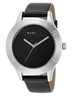 Marc By Marc Jacobs Women's Blade Black Dial Black Genuine Leather Watch MBM1205