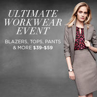 $39 - $59Blazers, Tops, Pants & More @Jones New York