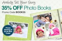 35% OFF Photo Books@ CVS.com