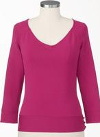 $7.99Coldwater Creek Women's Sweetheart V-Neck Sweater
