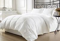 $43.99 Chezmoi Collection White Goose Down Alternative Comforter