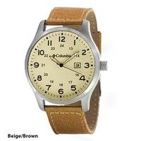 Men's Columbia Fieldmaster II Collection Canvas Strap Watch(5 colors)