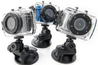 $31.99 Gear Pro 720p HD or 1080p Full HD Sport Action Camera with Touch Screen