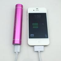 KMASHI KMAX-807 Mini 2800mAh Portable Power Bank Pack External Battery Built-In Highlight Torch/Flashlight