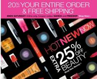 25% Off  + 20% offBeauty @ CVS