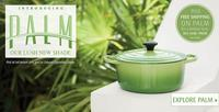 Free shippingnew Palm collection @ Le Creuset