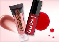 Free Benetint Deluxe Sample & Surgarbomb  Ultra Plush Lip Gloss Deluxe SampleWith Any $55 Purchase @ Benefit Cosmetics