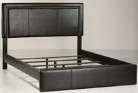 Redford Faux-Leather Queen Bed