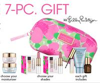 Free 7-piece gift set with any $35 Estee Lauder purchase @ macys.com
