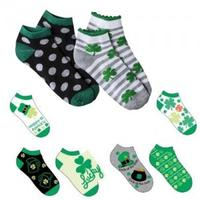 6 Pairs of St Patrick's Day Socks